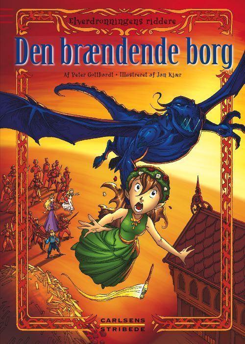 Elverdronningens riddere 3: Den brændende borg - Maneno