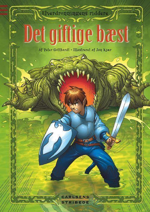 Elverdronningens riddere 4: Det giftige bæst - Maneno
