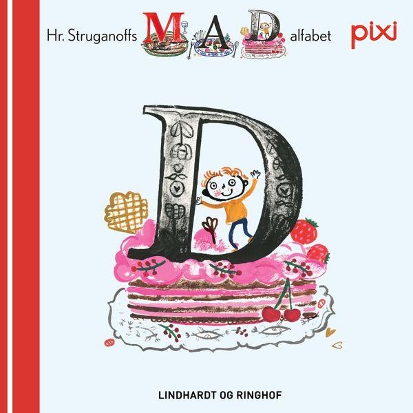 Pixi- Hr. Struganoff madalfabet D - Maneno