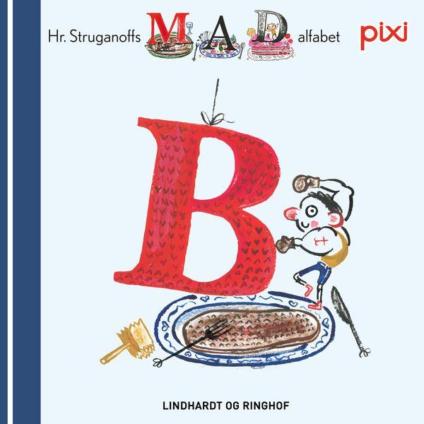 Pixi- Hr. Struganoff madalfabet B - Maneno