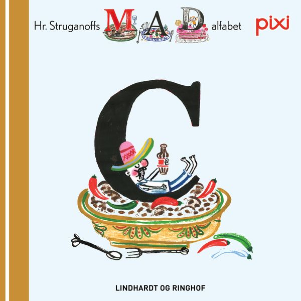 Pixi- Hr. Struganoff madalfabet C - Maneno