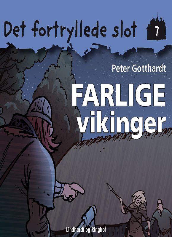 Det fortryllede slot 7: Farlige vikinger - Maneno