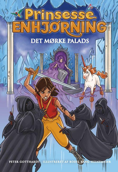 Prinsesse Enhjørning #3: Det mørke palads - Maneno