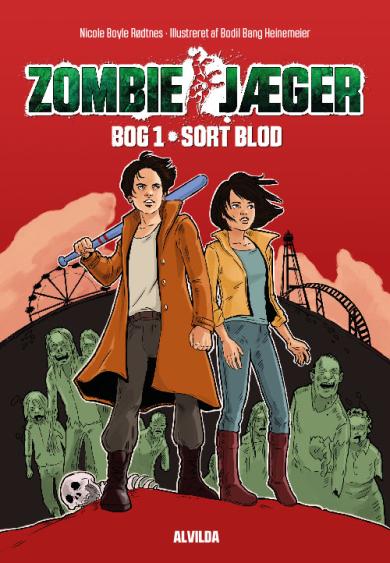 Zombie-jæger #1: Sort blod - Maneno - 10880