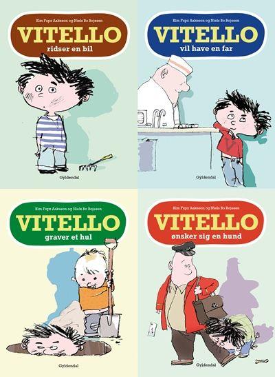 Fire historier om drengen Vitello - Maneno