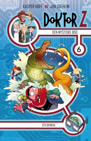 Doktor Z #6: Den mystiske bog - Maneno