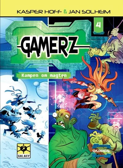 Gamerz #4: Kampen om magten - Maneno