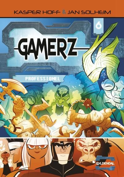 Gamerz #6: Professionel - Maneno