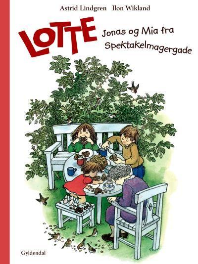 Lotte, Jonas og Mia fra Spektakelmagergade - Maneno