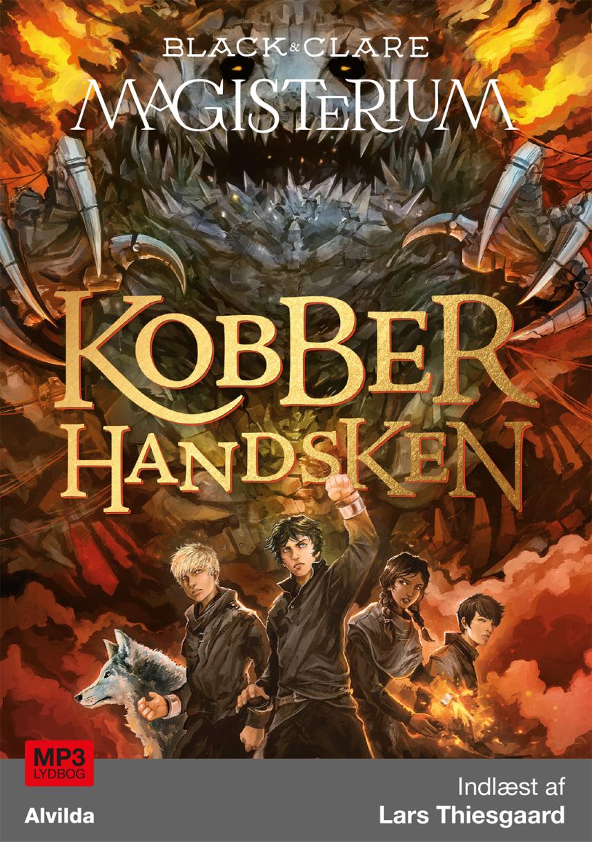 Magisterium #2: Kobberhandsken - Maneno - 10228