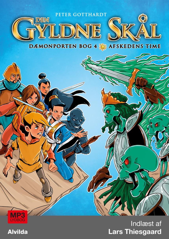 Den gyldne skål - Dæmonporten bog 4: Afskedens time - Maneno