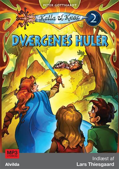 Katla og Knøs #2: Dværgenes huler - Maneno