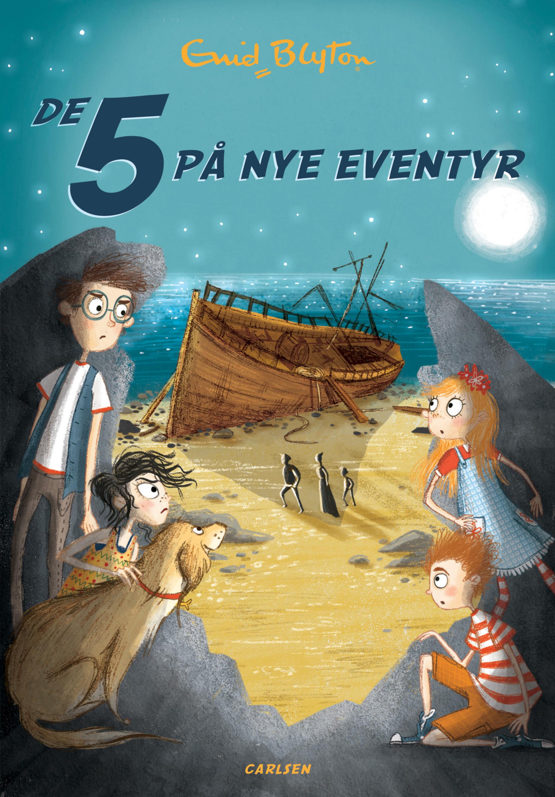De 5 på nye eventyr (3) - Maneno