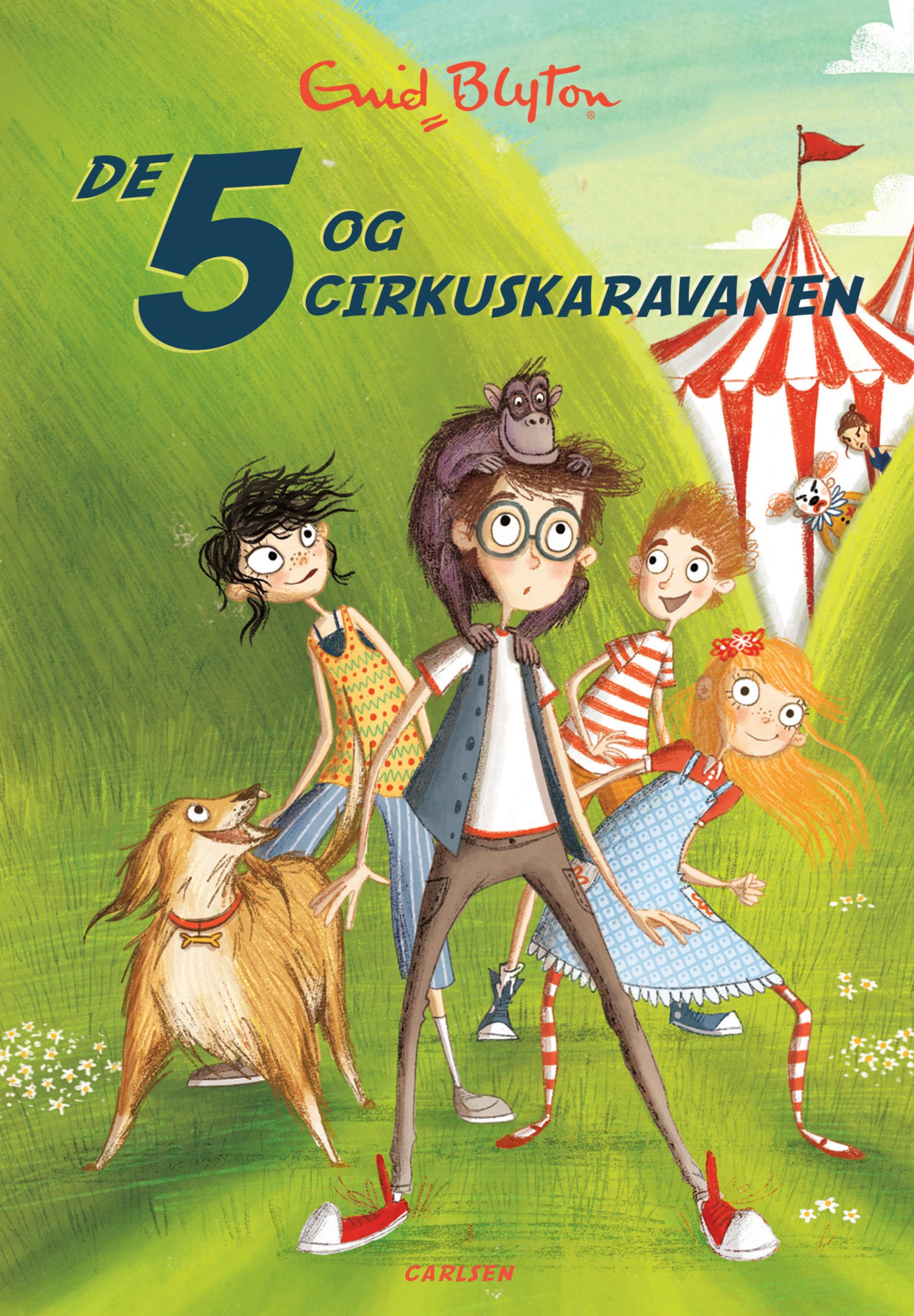 De 5 og cirkuskaravanen (5) - Maneno