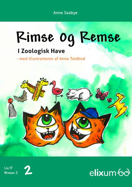 Rimse og Remse #2: I Zoologisk have - Maneno - 9247
