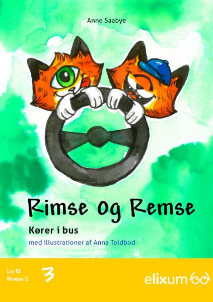 Rimse og Remse #3: Kører i bus - Maneno - 9249