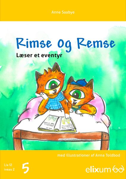 Rimse og Remse #5: Går i skole - Maneno - 9253