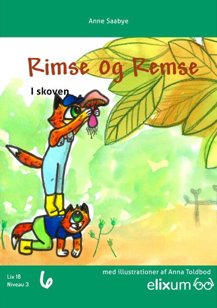 Rimse og Remse #6: Læser eventyr - Maneno - 9255