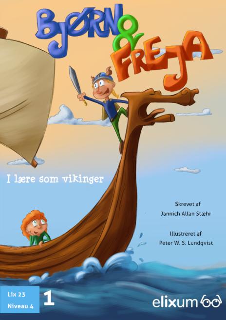 Bjørn og Freja i lære som vikinger - Maneno - 9285