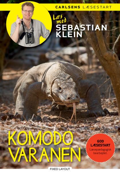 Læs med Sebastian Klein - Komodovaranen - Maneno
