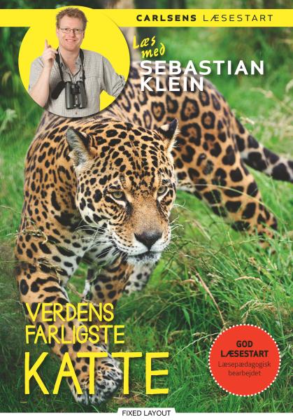 Læs med Sebastian Klein - Verdens farligste katte - Maneno