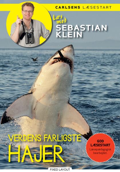 Læs med Sebastian Klein - Verdens farligste hajer - Maneno