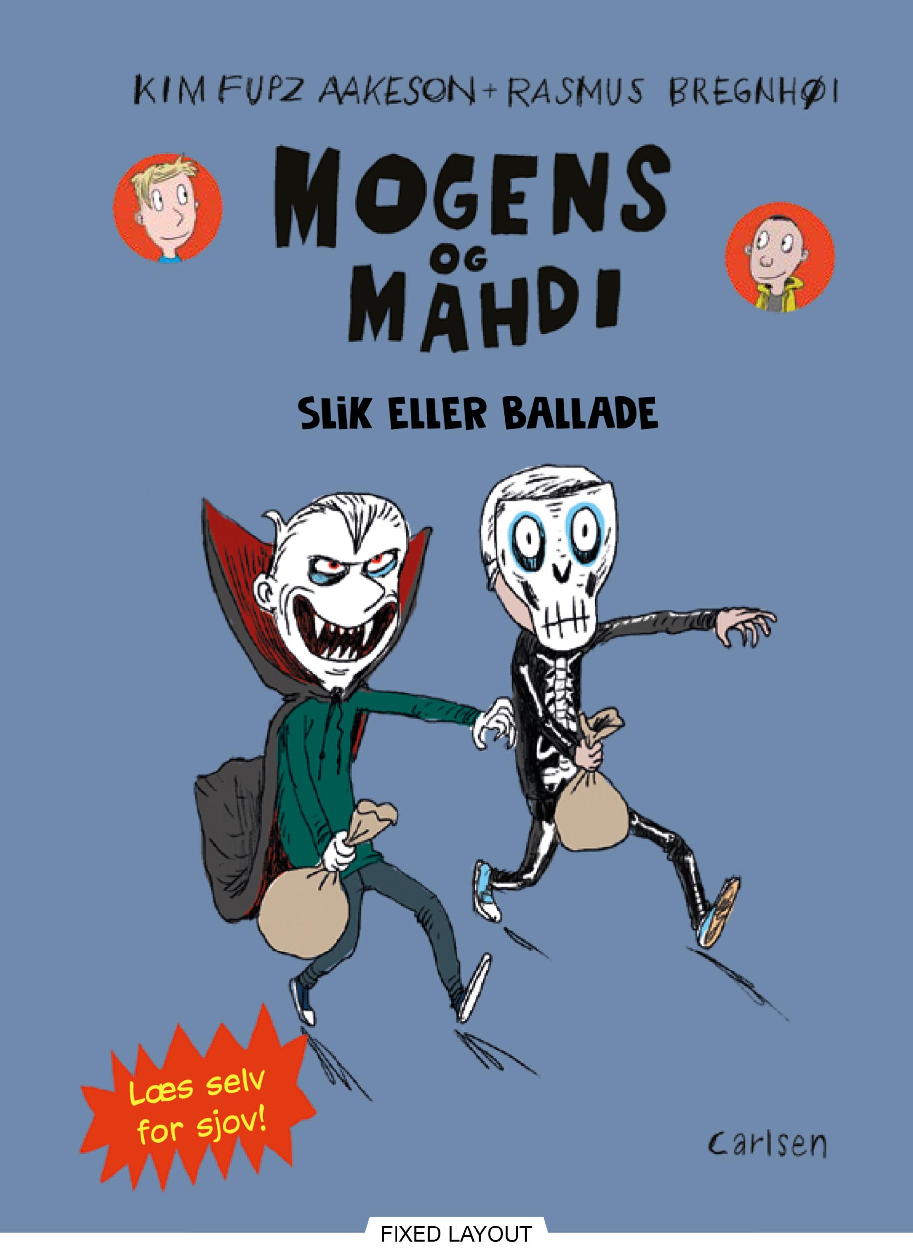 Mogens og Mahdi slik eller ballade - Maneno
