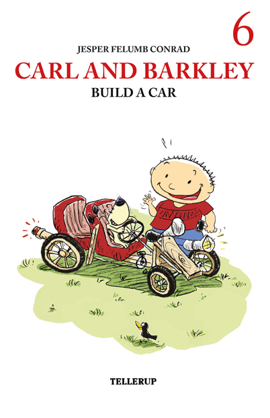 Carl and Barkley #6: Carl and Barkley Build a Car - Maneno - 12155