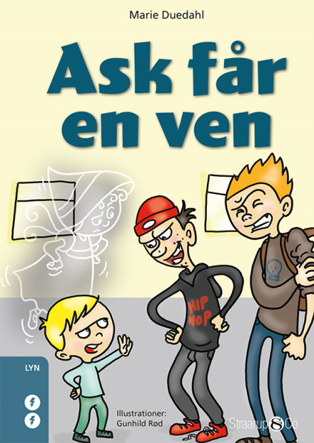 Ask får en ven - Maneno