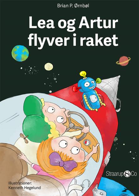 Lea og Artur flyver i raket - Maneno