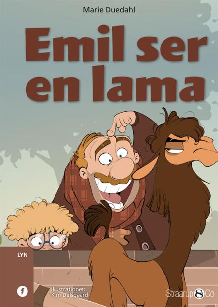 Emil ser en lama - Maneno