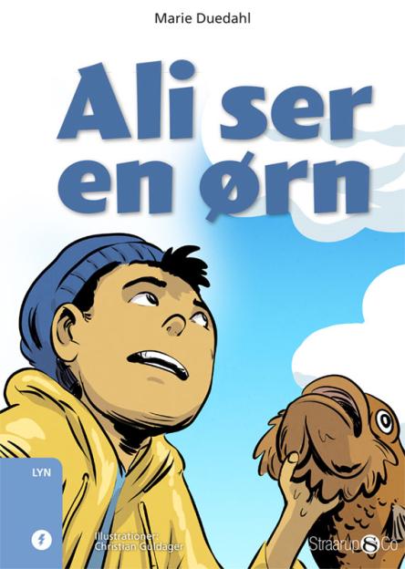 Ali ser en ørn - Maneno