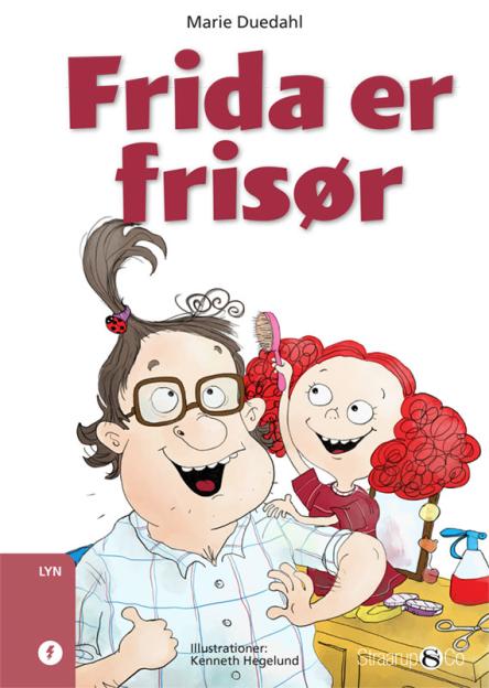 Frida er frisør - Maneno