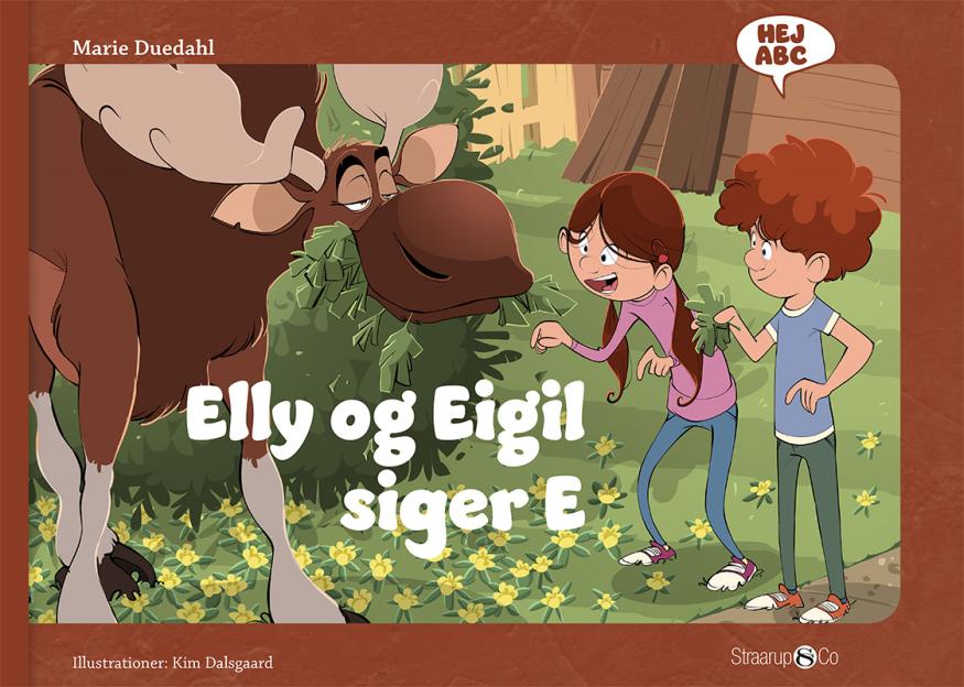 Hej ABC: Elly og Eigil siger E - Maneno