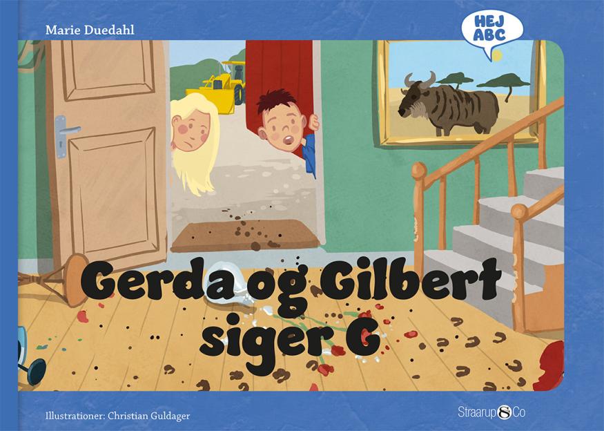 Hej ABC: Gerda og Gilbert siger G - Maneno