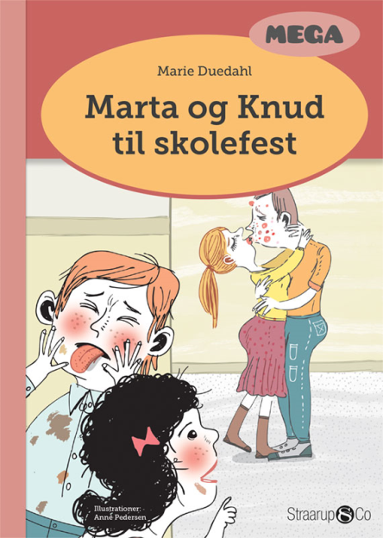 Marta og Knud til skolefest - Maneno