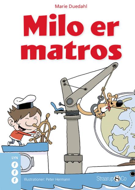 Milo er matros - Maneno