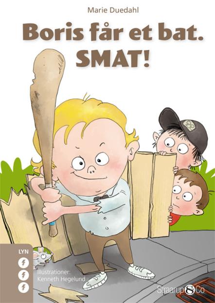 Boris får et bat. SMAT! - Maneno