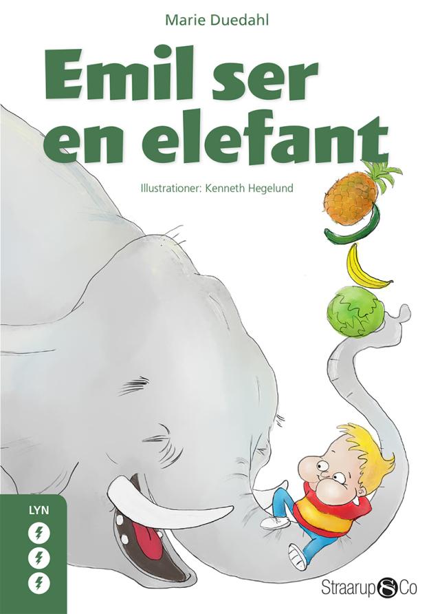Emil ser en elefant - Maneno