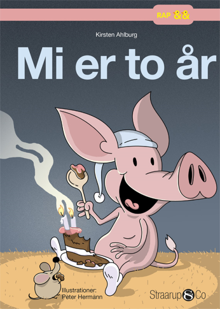 Mi er to år - Maneno