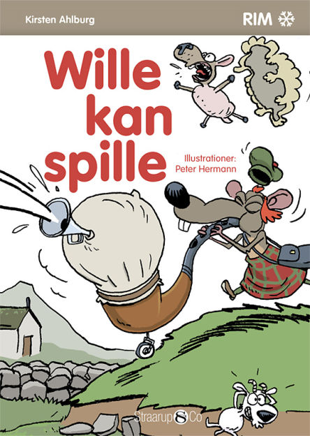Wille kan spille - Maneno