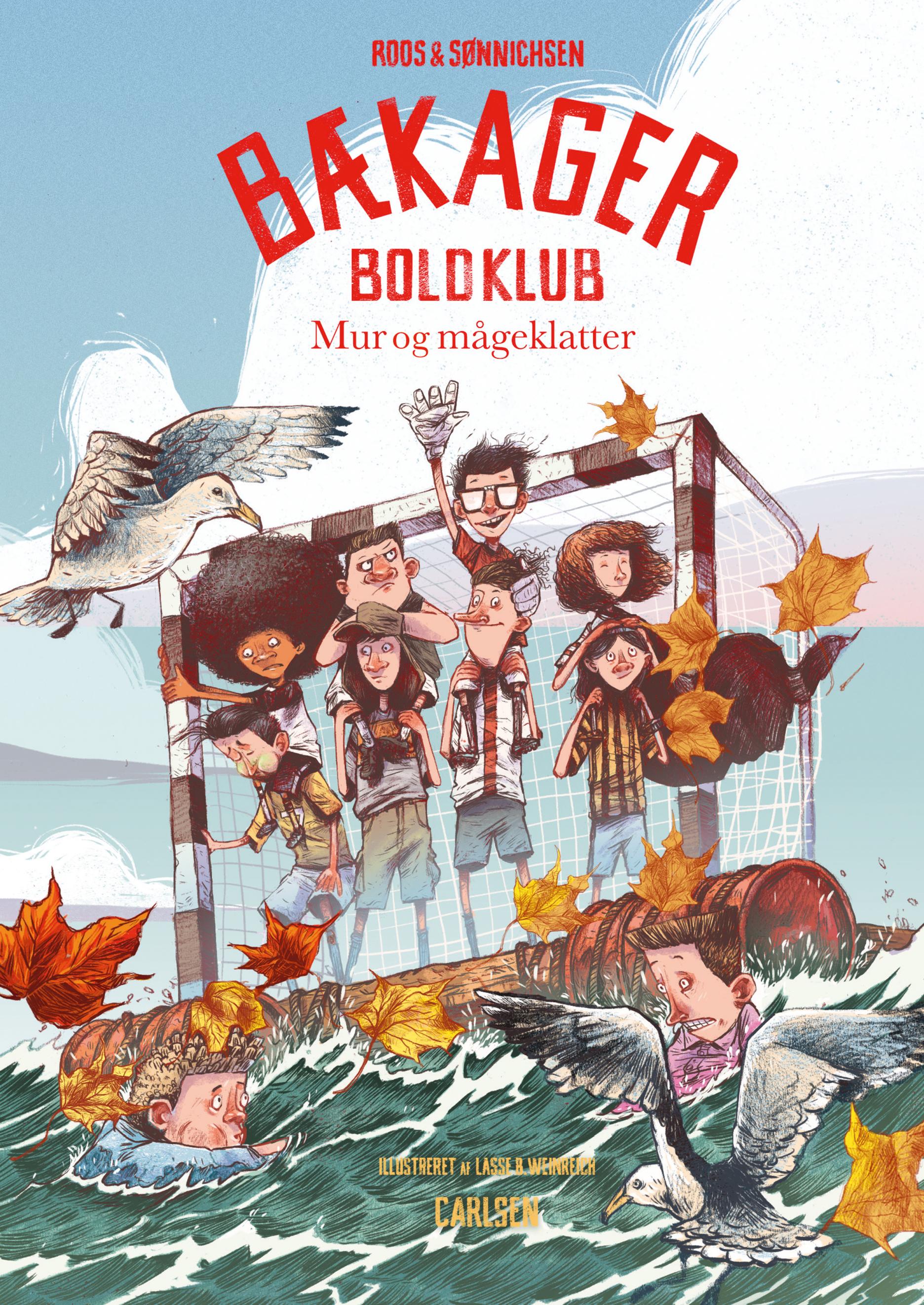 Bækager Boldklub #3: Mur og mågeklatter - Maneno