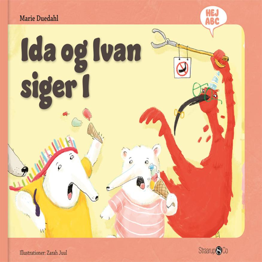 Hej ABC: Ida og Ivan siger I - Maneno