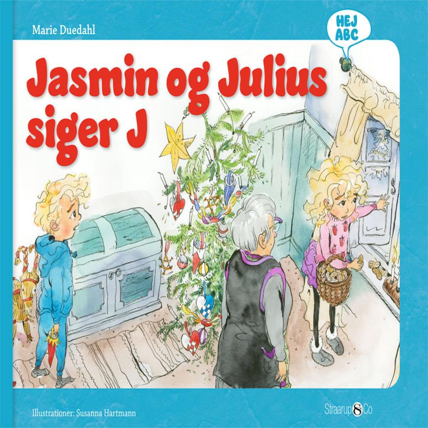 Hej ABC: Jasmin og Julius siger J - Maneno