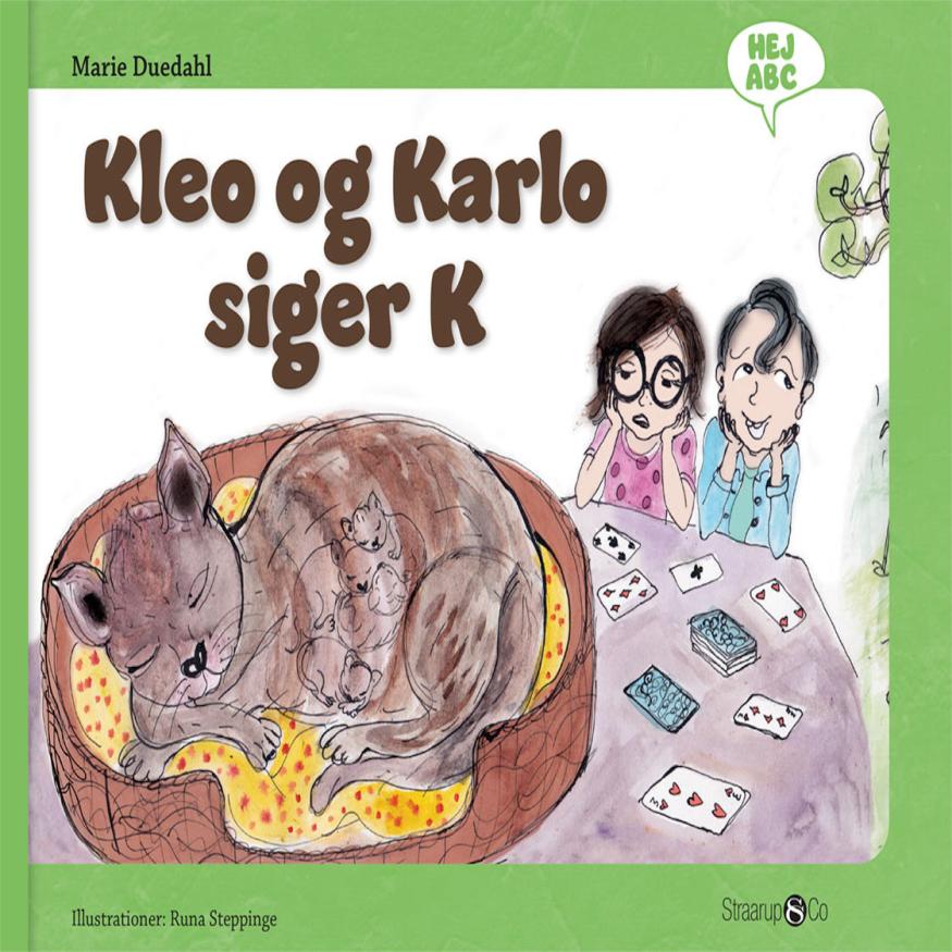 Hej ABC: Kleo og Karlo siger K - Maneno
