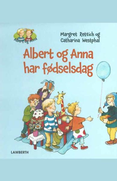 Albert og Anna har fødselsdag - Maneno - 10000