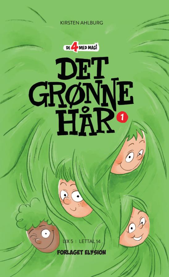 De 4 med magi #1: Det grønne hår - Maneno - 9946