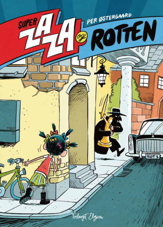 Super Zaza og Rotten - Maneno