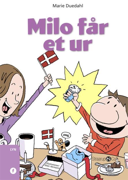 Milo får et ur - Maneno