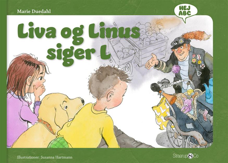 Hej ABC: Liva og Linus siger L - Maneno